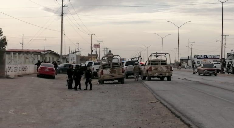 Balacera estatales: 5 delincuentes muertos; policía con lesiones