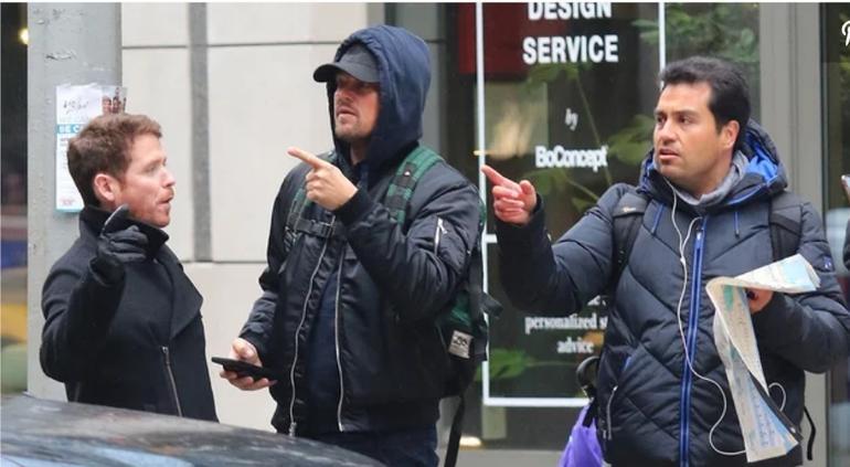 Leonardo DiCaprio ayudó a un turista perdido en Nueva York — Al rescate