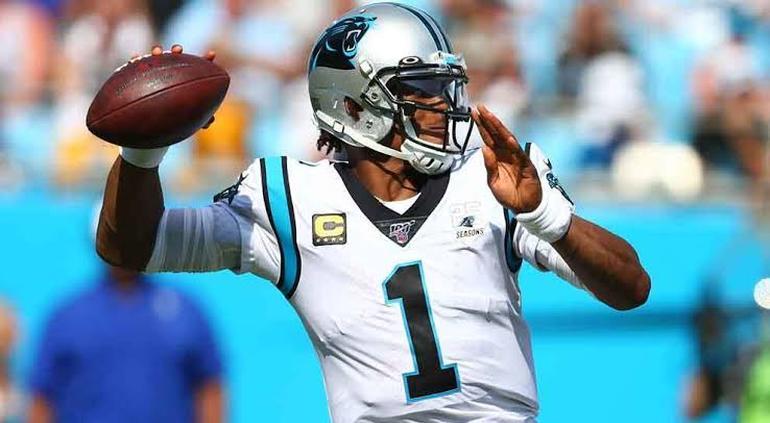 Libera Panthers de Carolina a Cam Newton [NFL]
