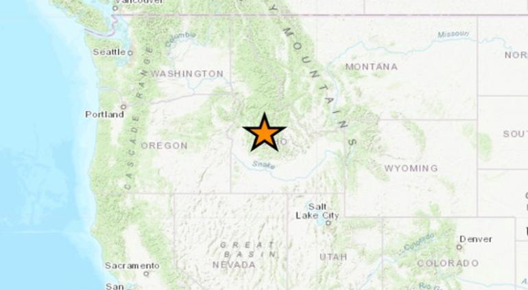 Potente sismo de 6.5 sacude Idaho, EU (VIDEOS)