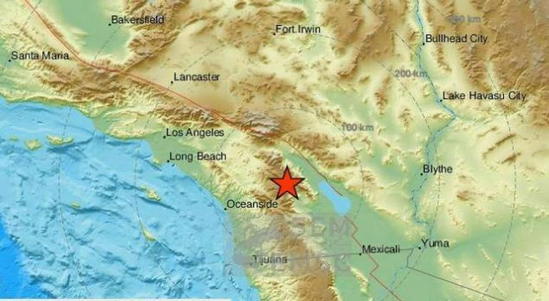 Tiembla en el Sur de California y remece Tijuana