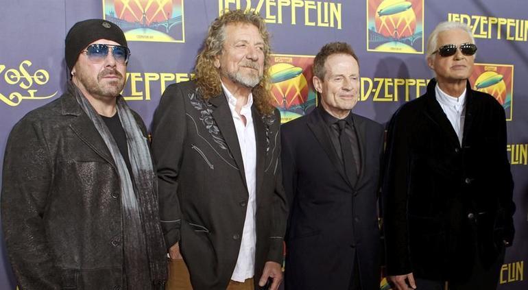 Led Zeppelin transmitirá su concierto reencuentro 'Celebration Day'