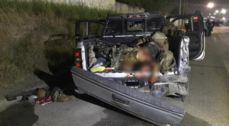 Militares abaten a 12 sicarios de la Tropa del Infierno