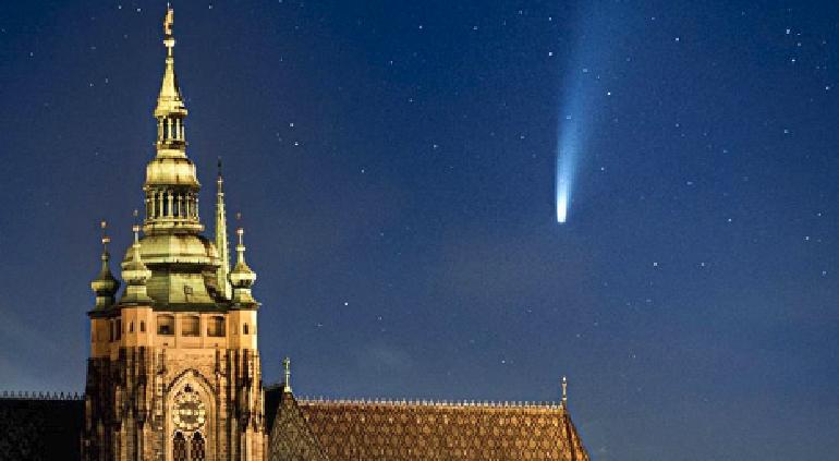 Estos son los mejores días y condiciones para observar el cometa Neowise
