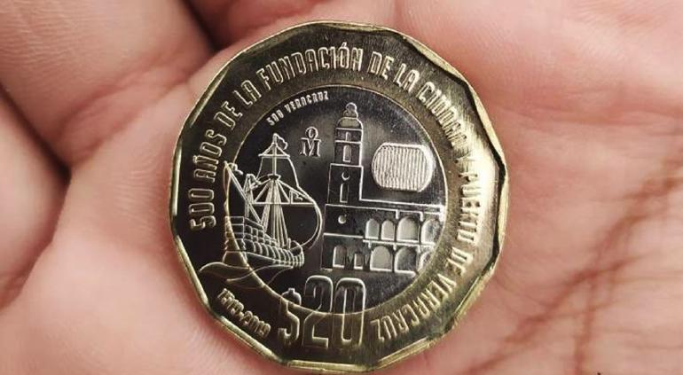 La nueva moneda de 20 pesos tiene estos sorprendentes detalles