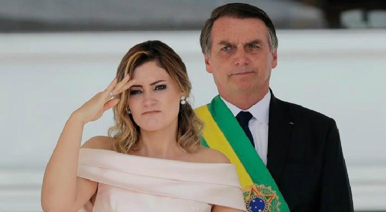 Michelle de Paula Firmo: esposa de Bolsonaro tiene coronavirus