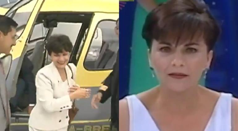 ¡Llegó en helicóptero! Paty Chapoy recuerda polémica con Televisa