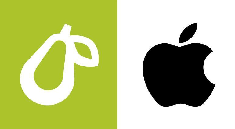 Apple se opone a que Prepear use frutas en su logo
