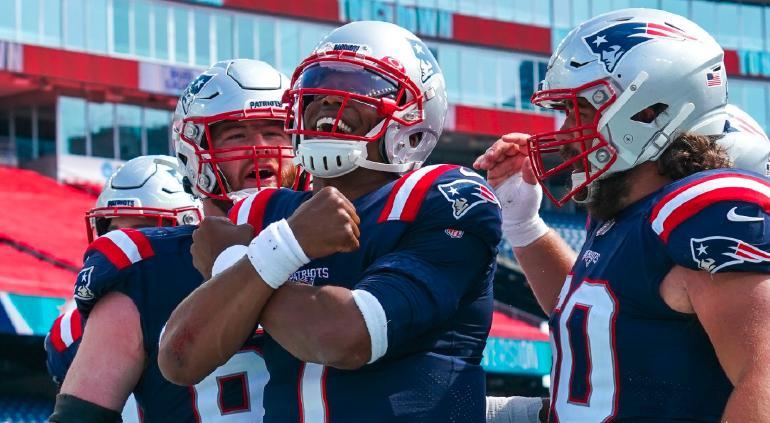 Patriots inician la era Cam Newton con una victoria
