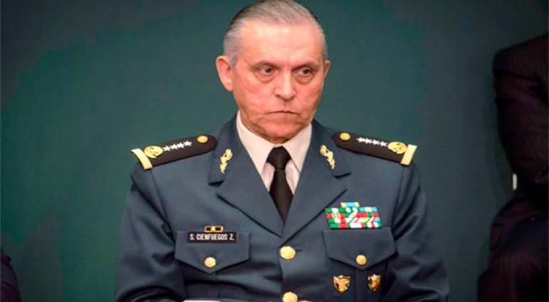 Detienen la DEA en EEUU al exsecretario de la Defensa, Salvador Cienfuegos