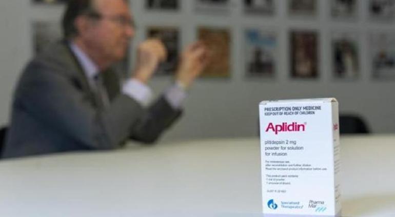 Grandes resultados en los ensayos del Aplidin de PharmaMar contra el coronavirus