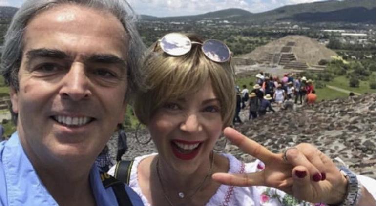 Viudo de Edith González presume compañía de su nuevo amor