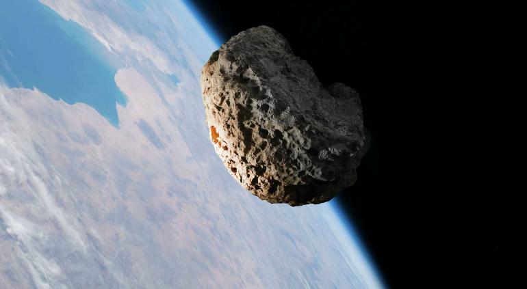 Rompió asteroide récord de aproximación a la Tierra sin impactar