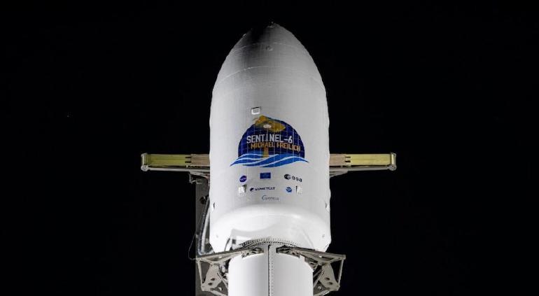 Lanzado con éxito el satélite Sentinel-6 Michael Freilich