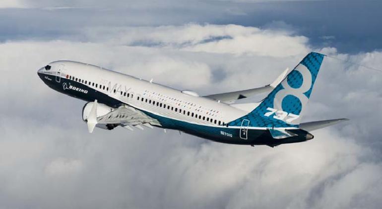 Sufrió Boeing 737 Max problema en motor durante vuelo