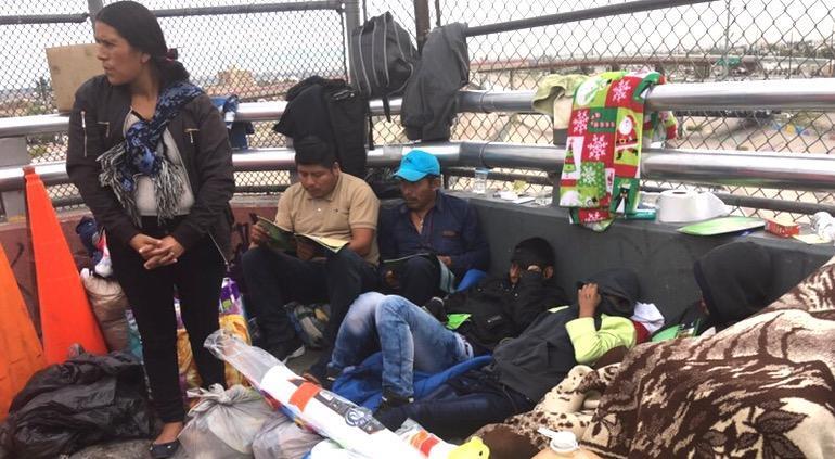 Gobierno de EUA pide a migrantes no venir a la frontera