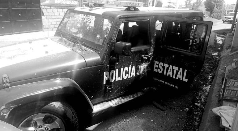 Suman 25 detenidos por emboscada a policías en Edomex