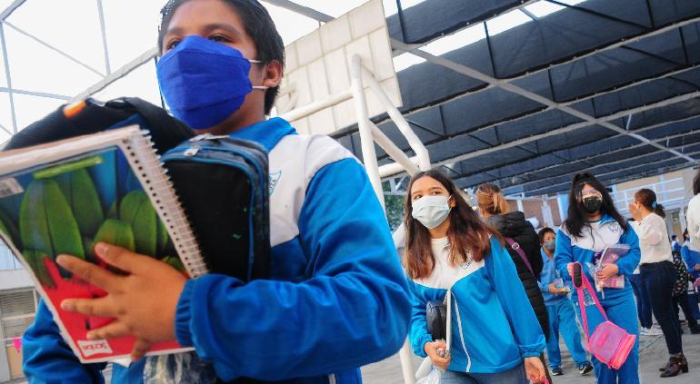Cierran escuela en Tláhuac por primer caso positivo de covid