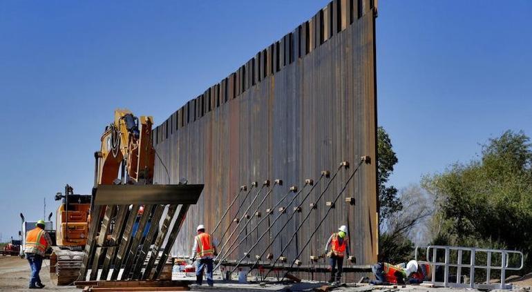 Texas autoriza 250 mdd como pago inicial para la construcción de muro fronterizo con México