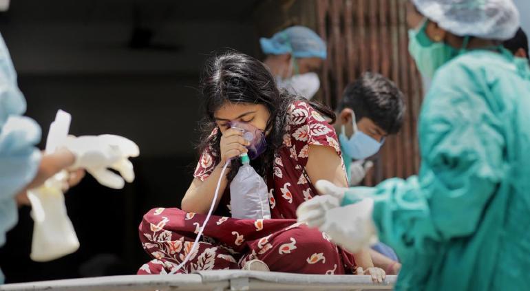 La nueva variante más contagiosa que se descubrió en India — Delta Plus